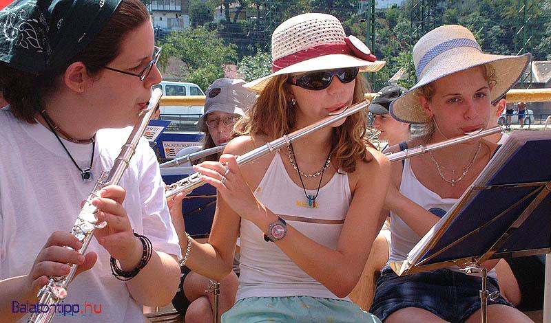 Szigetvári Ifjúsági Fúvószenekar, Fonyód, 2002. június 21.