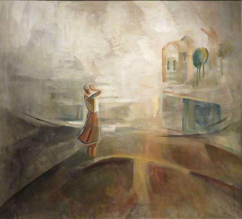 Egry József: Visszhang - 1936 - a balatonfüredi Vaszary Galéria kiállításáról