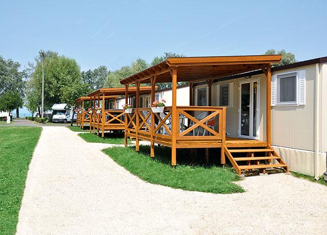Új mobilházak a siófok Balatontourist Aranypart Kemping és Üdülőfaluban