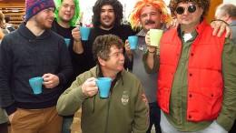 Marcaliból is voltak farsangoló vendégek a balatonakali borfőző versenyen