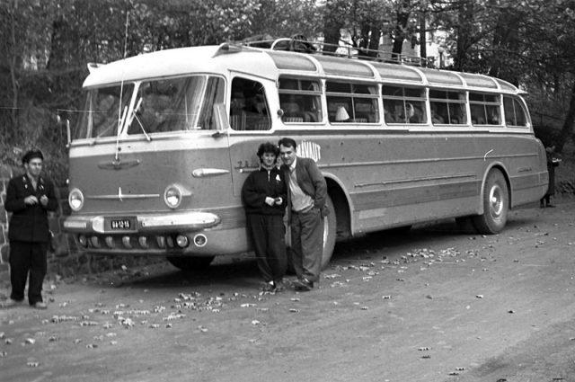 Ikarus55 - 1959 - Fotó: Szánthó Károly - fortepan.hu