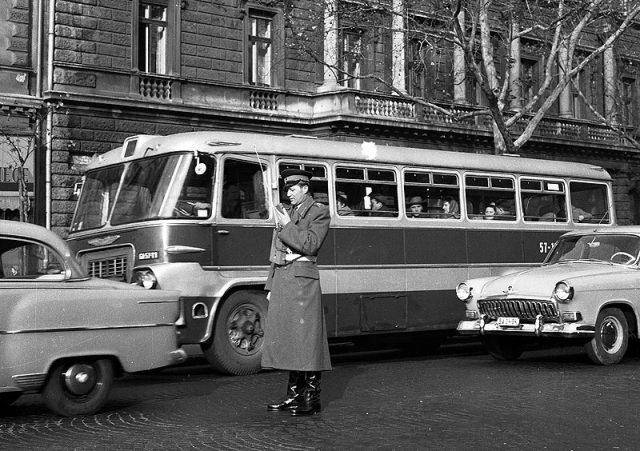Ikarus 620/630 - 1964 - fortepan.hu