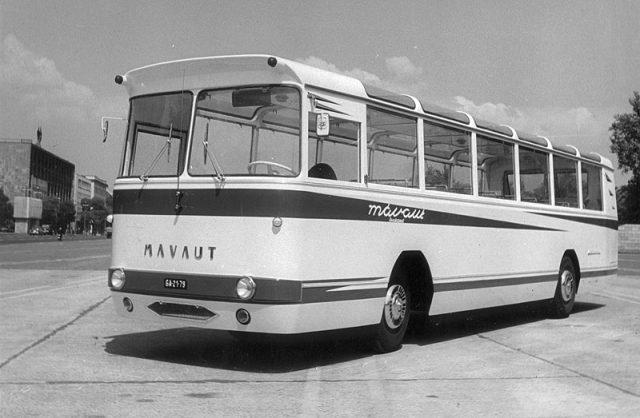 MÁVAUT- prototípus - 1970 - fotó: fortepan.hu
