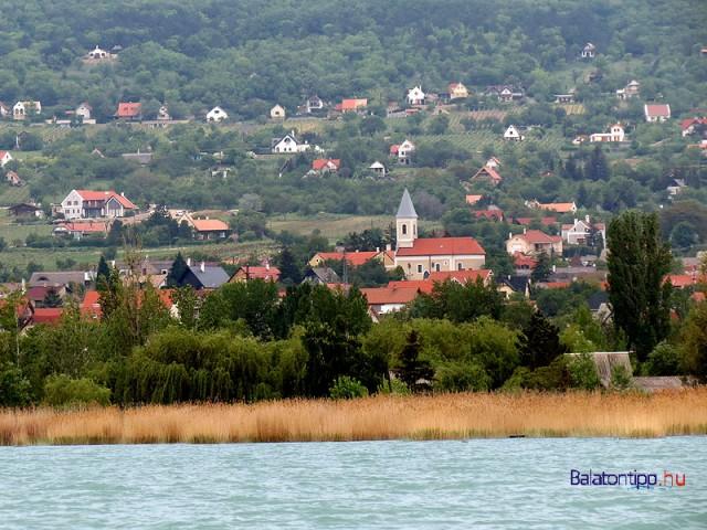 Paloznak a Balatonról - a parti részt egyszerre vinnék Alsóörshöz és Siófokhoz