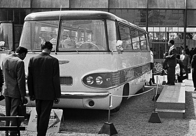 Ikarus 303 - 1960 - prototípus - Fotó Erky-Nagy Tibor - fortepan.hu