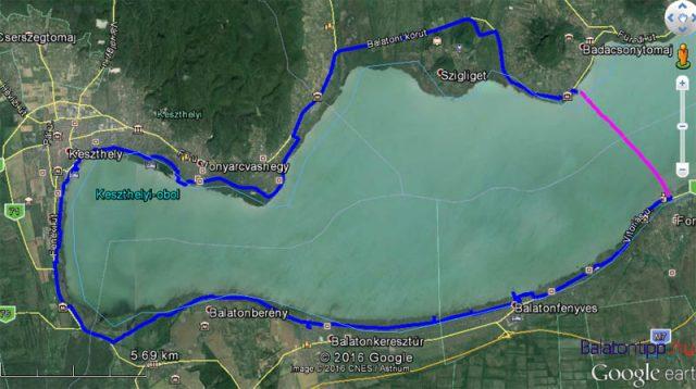 A balatoni bicikliút 66 kilométeres nyugati harmada - kis kitérőkkel