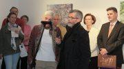 Matteo Massagrande a művein kívül egy vallomással  hálálta meg az érdeklődést Tihanyban