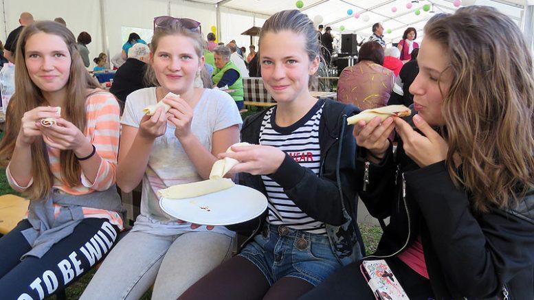 A lányok finomra értékelték a palacsintákat