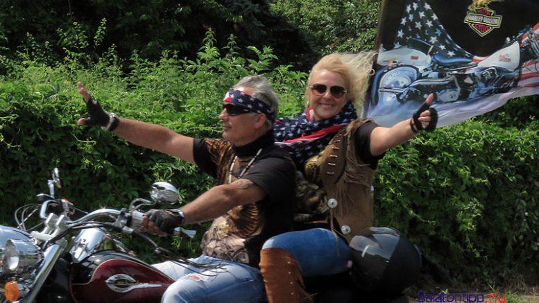 Harley-Davidson Open Road motoros fesztivál Alsóörs