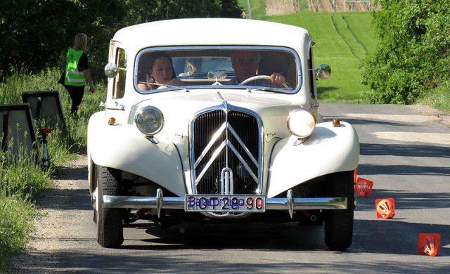 Éppen 60 éves a képen látható Citroën Traction