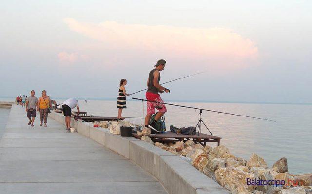 A horgászoknak is tetszik a hely