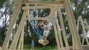Játékkal, túrával avatták fel az új parti sétányt Balatonfűzfőn