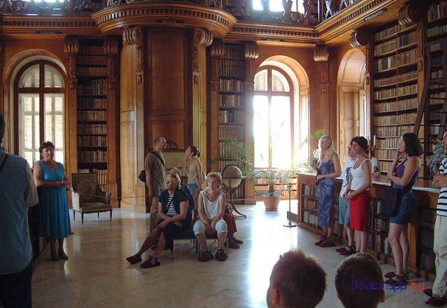 Könyvtár - Helikon Kastélymúzeum