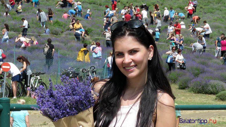 Vasmera Kata, a 2014-es Felvidék Szépe is tihanyi levendulával díszíti a lakásukat és kergeti a molyokat