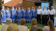 A Szivárvány Népdalkör is énekelt a balatonkenesei tájház jubileumi ünnepségén