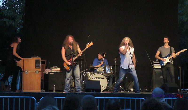 A Cry Free koncertje Balatonkenesén