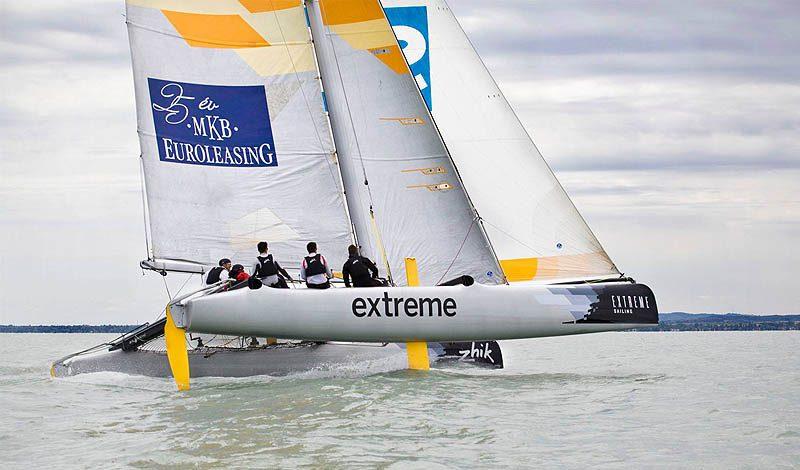 Az Extreme Sailing Team - Fotó: a csapat Facebook oldala
