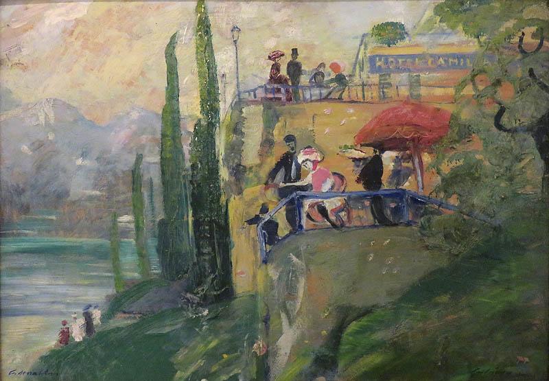 Gulácsy Lajos - Cadenabbia
