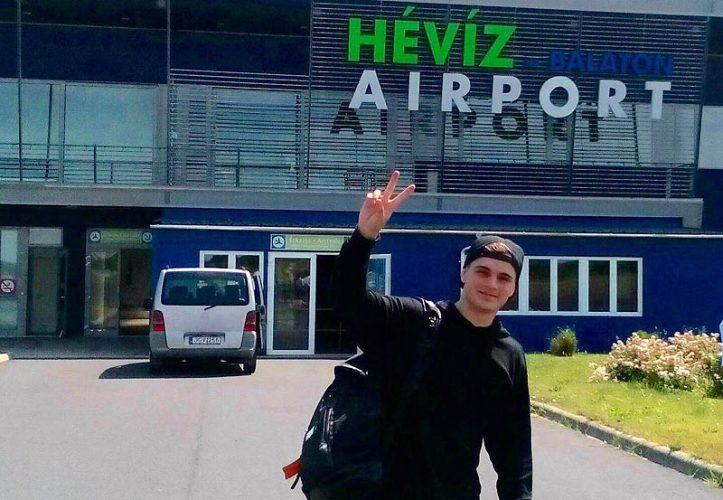 Martin Garrix holland DJ egy Dassault Falcon-900EX géppel érkezett - facebook.com/Héviz-Balaton-Airport