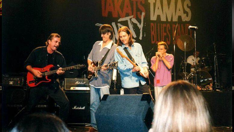 A Takáts Tamás Blues Band is itt lesz a révfülöpi fesztiválon