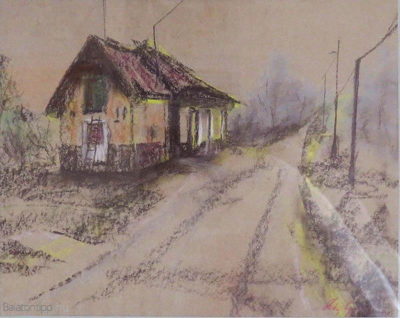 Az 1909-től 1969-ig működő Veszprém-Alsóörs vasútvonal Remete-völgyi megállójának épülete