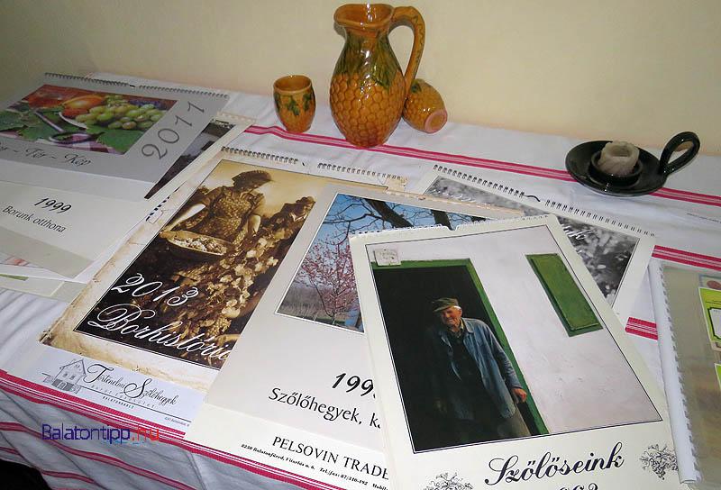 A Müller István szervezésében készített egykori naptárak