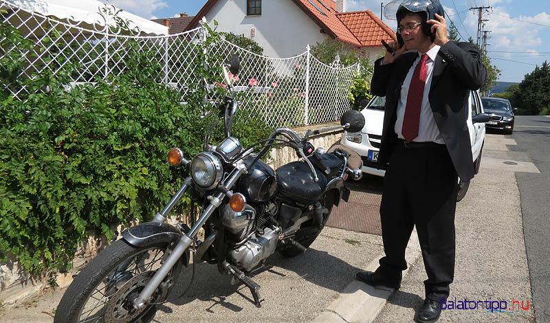 Az egyik paloznaki motoros fiú