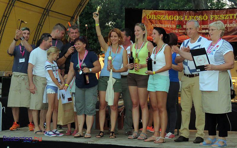 A harmadik helyezett a Ratatouille csapat