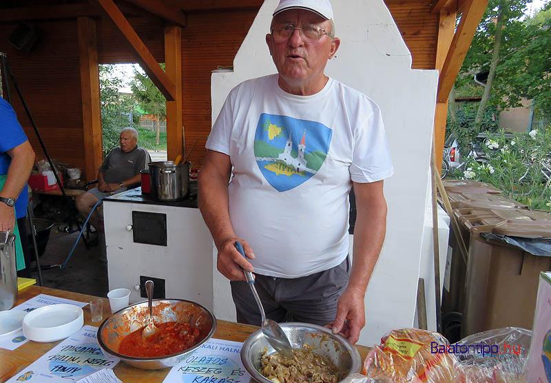 Tóth Pál szerint napraforgóolajjal éppen olyan finom, mint olívával