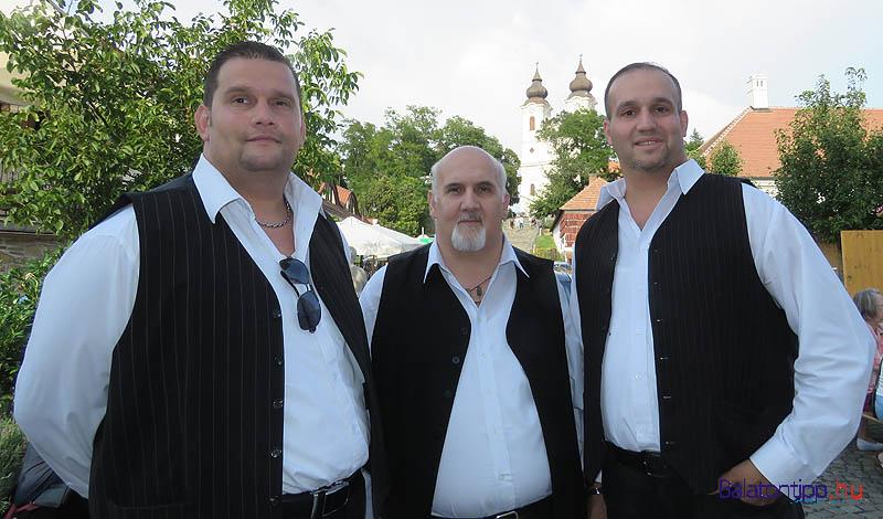 A Veszprém Városi Cigányzenekar is a vasárnapi fellépők között volt