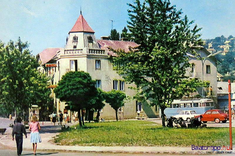 Az Almádi Tulipán hotel valamikor a fénykorában