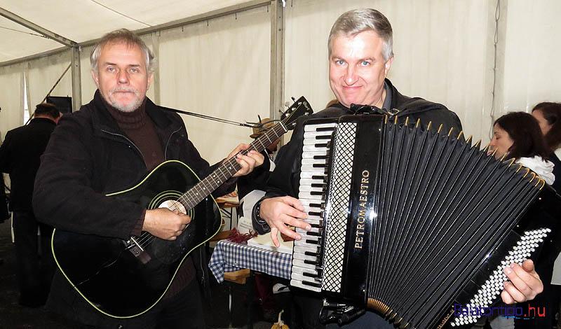 Schmidt János és Móger Péter a tavalyi rendezvényen