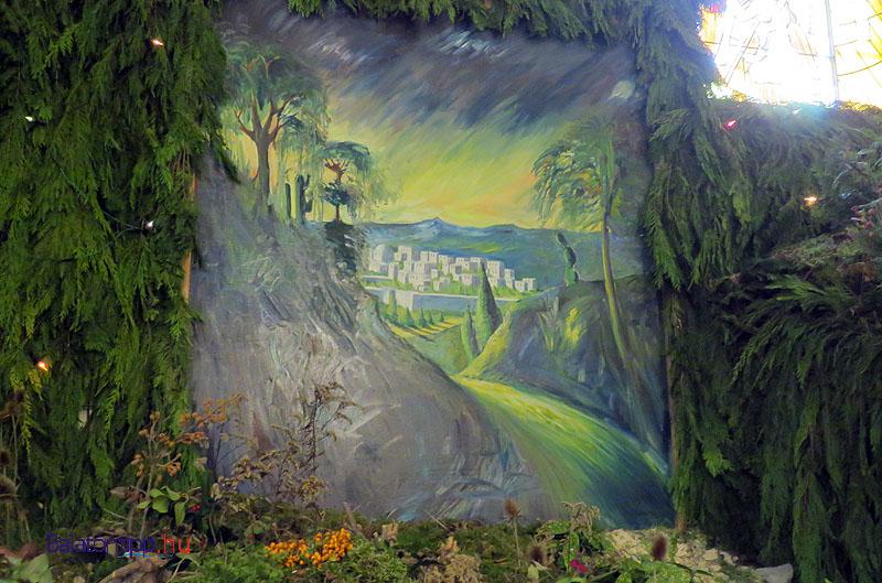 Betlehem, ahonnan ösvény visz a pásztorok istállójához
