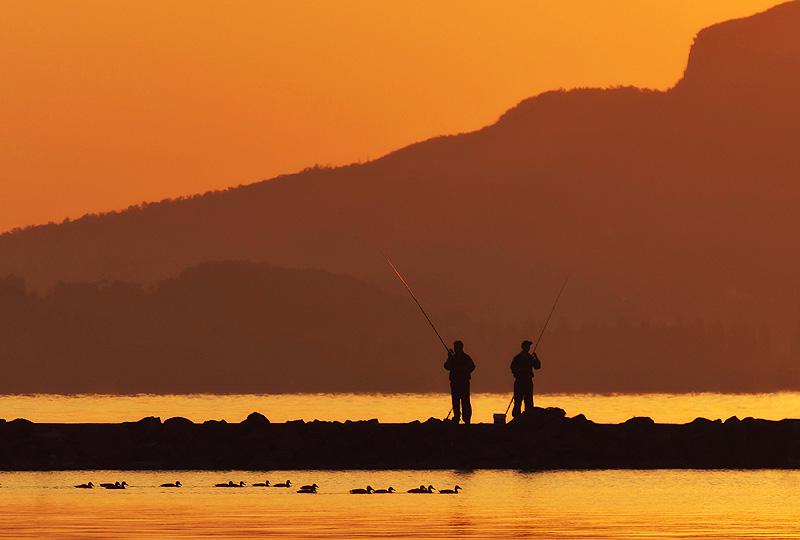 Hőbér Szabolcs: Hajnali horgászok