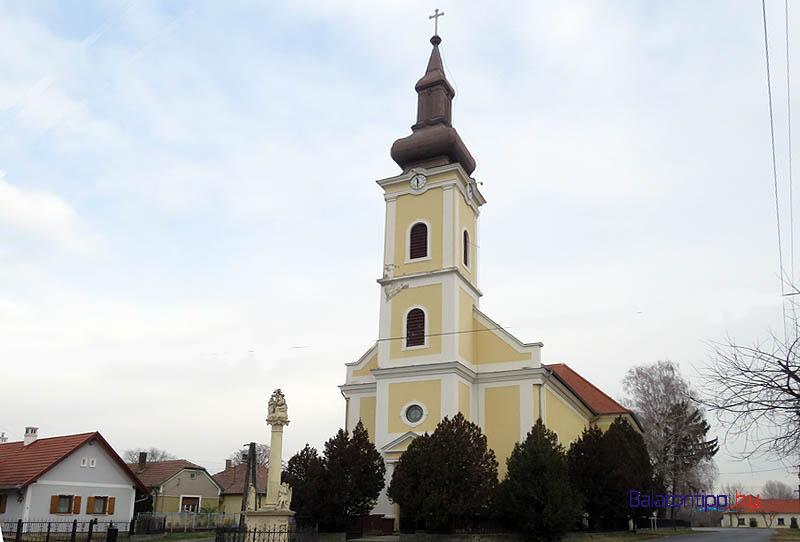 Az 1820-as években épült vörsi Szent Márton-templom
