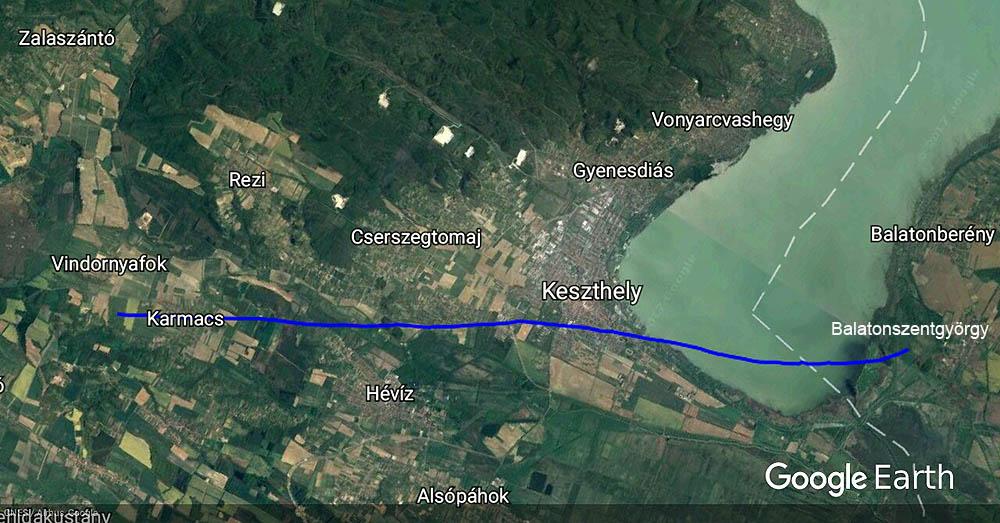 cserszegtomaj térkép A Balaton csodálatos világa   Hatvan látványos fotó a nyugati  cserszegtomaj térkép