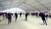 Hévízi korcsolyapálya jégpálya