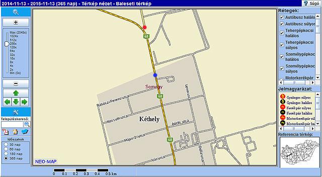 kéthely térkép Traffipaxok a Balatonnál  kamerás mérőkapuk | Balatontipp kéthely térkép