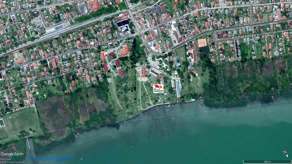 Balatonmariafurdo Kozponti Strand Balatontipp