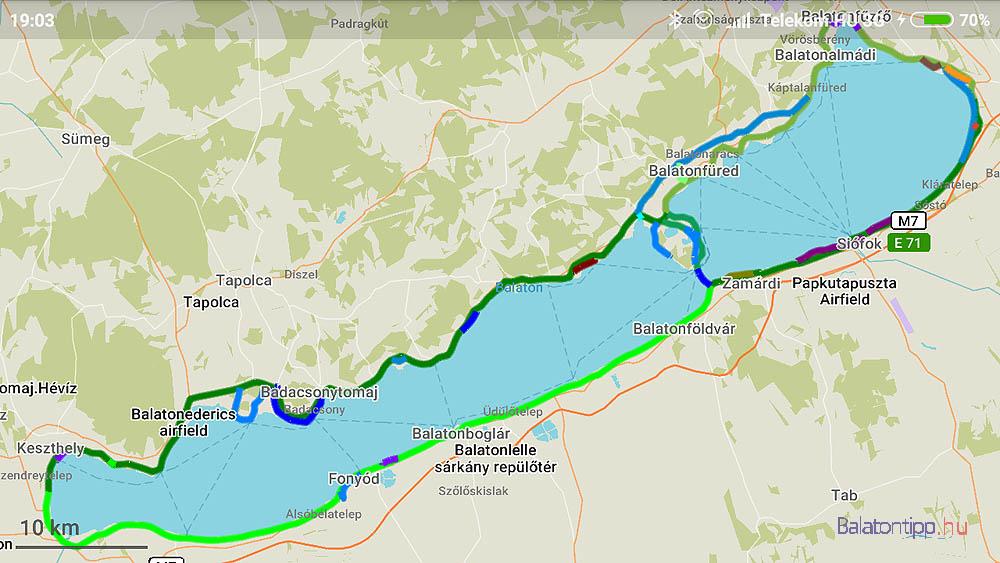 balaton körút térkép Balatoni Bringakör 24 térképes útvonal javaslattal   ahogy mi  balaton körút térkép