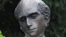 Kölcsey Ferenc szobra Balatonfüreden - Borbás Tibor 1995