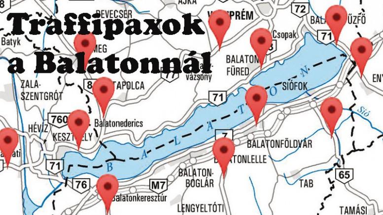 véda kapu térkép Balatoni régióba telepített szuper traffipaxok | Balatontipp