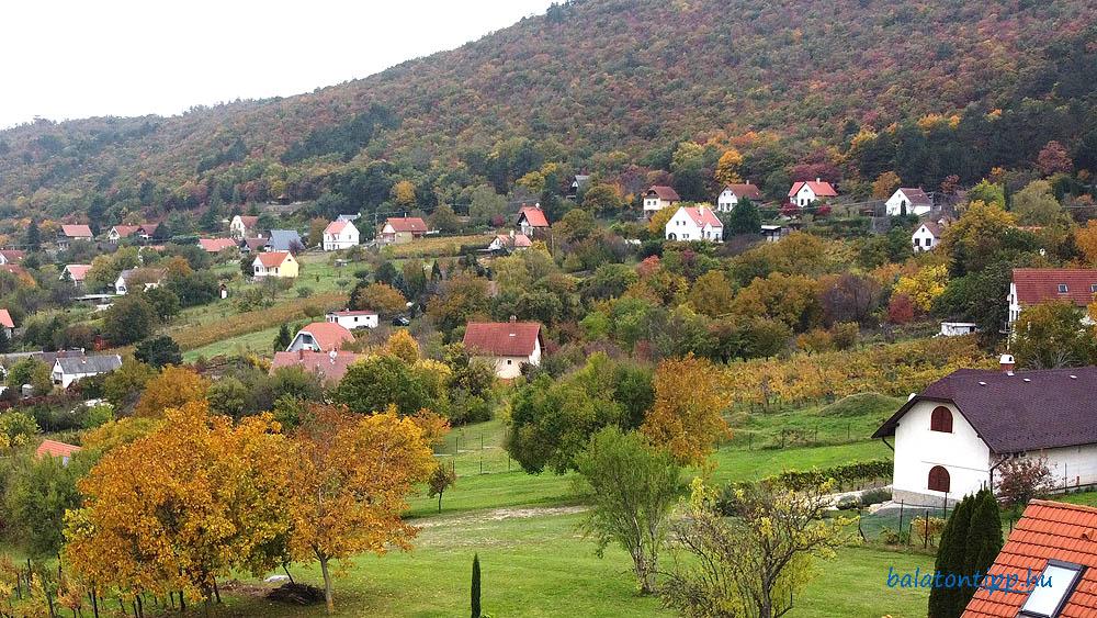 Becehegy őszi színekkel