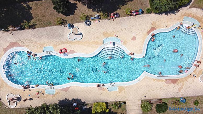 Keszthely Városi strand Balaton medence