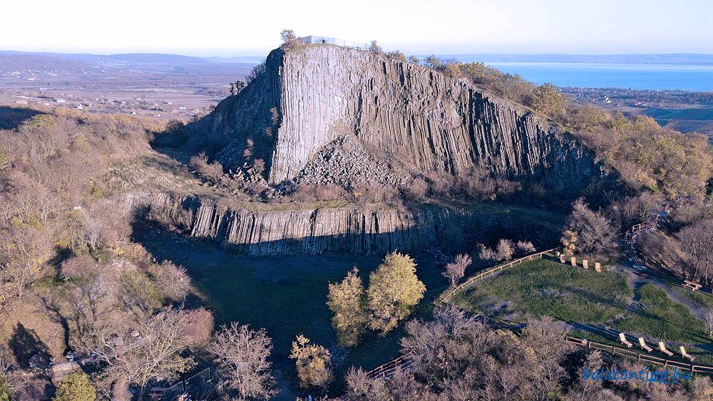A Hegyesű torzója ma a Balaton-felvidéki Nemzeti Park egyik kiemelt látogatóhelye