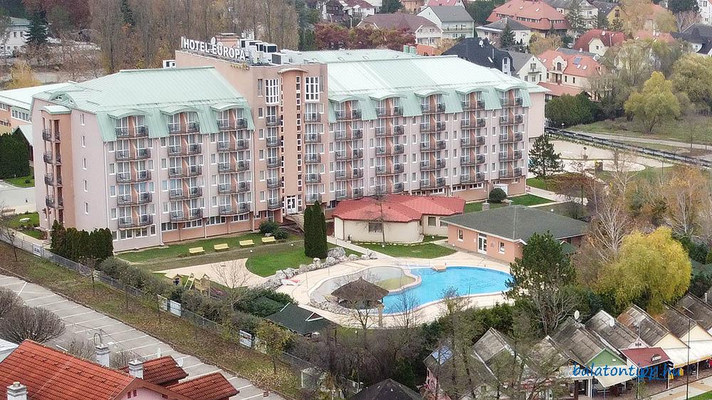 a Hotel Európa fit Hévíz****