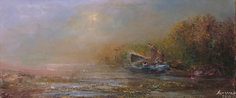 Kozma Imre: Rozzant már a csónak (Rep. gyá)