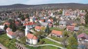Balatonszepezdi látkép a Balaton felől