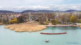 Brázay park a Balaton felől
