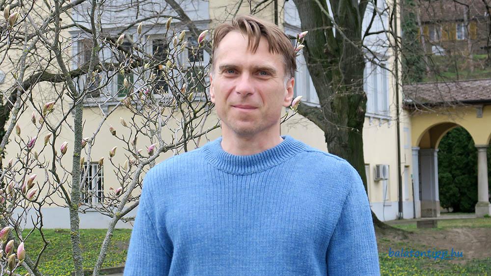 Erős Tibor igazgató Balatoni Limnológiai Kutatóintézet